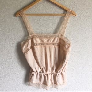 Never Worn Vintage 60's Goddard Nude Slip Camisole